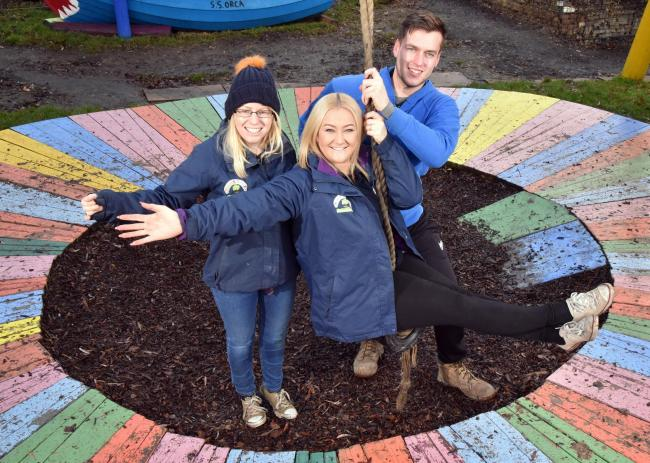 Eccleshill Adventure Playground was one of the groups that gained funding last year