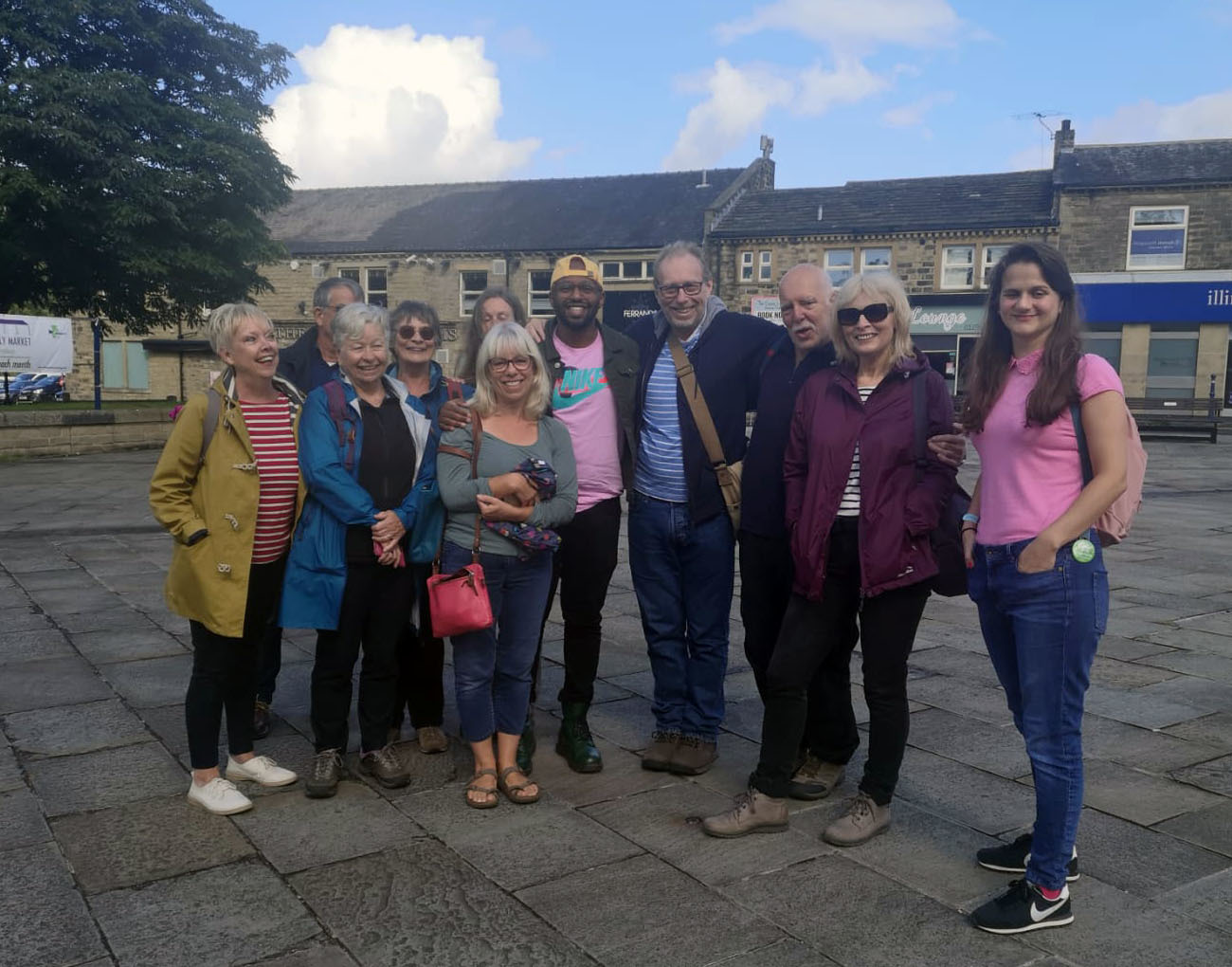 Green Party MEP Magid Magid visits Bingley