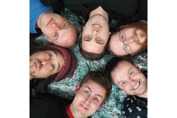 Foxes Faux, clockwise from top Tim Rickaby (currently taking a break from the band), Damian Curran, Ben Snowden, Will Quinn, Kurt Wood and Luke Parker