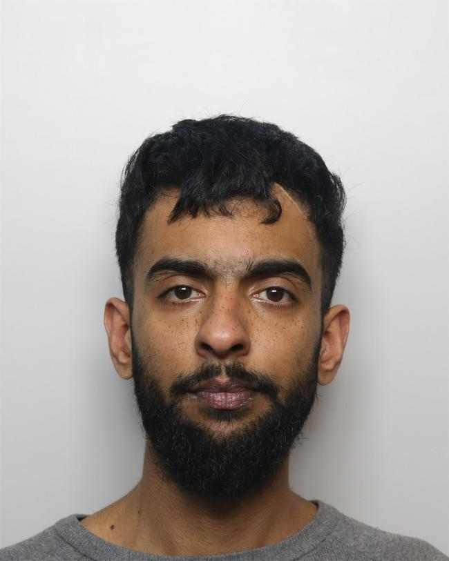 Mohammed Rihan Umar, from Wyke, who has been jailed