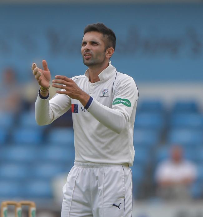 Keshav Maharaj continued his fine form against Somerset   Picture: RAY SPENCER