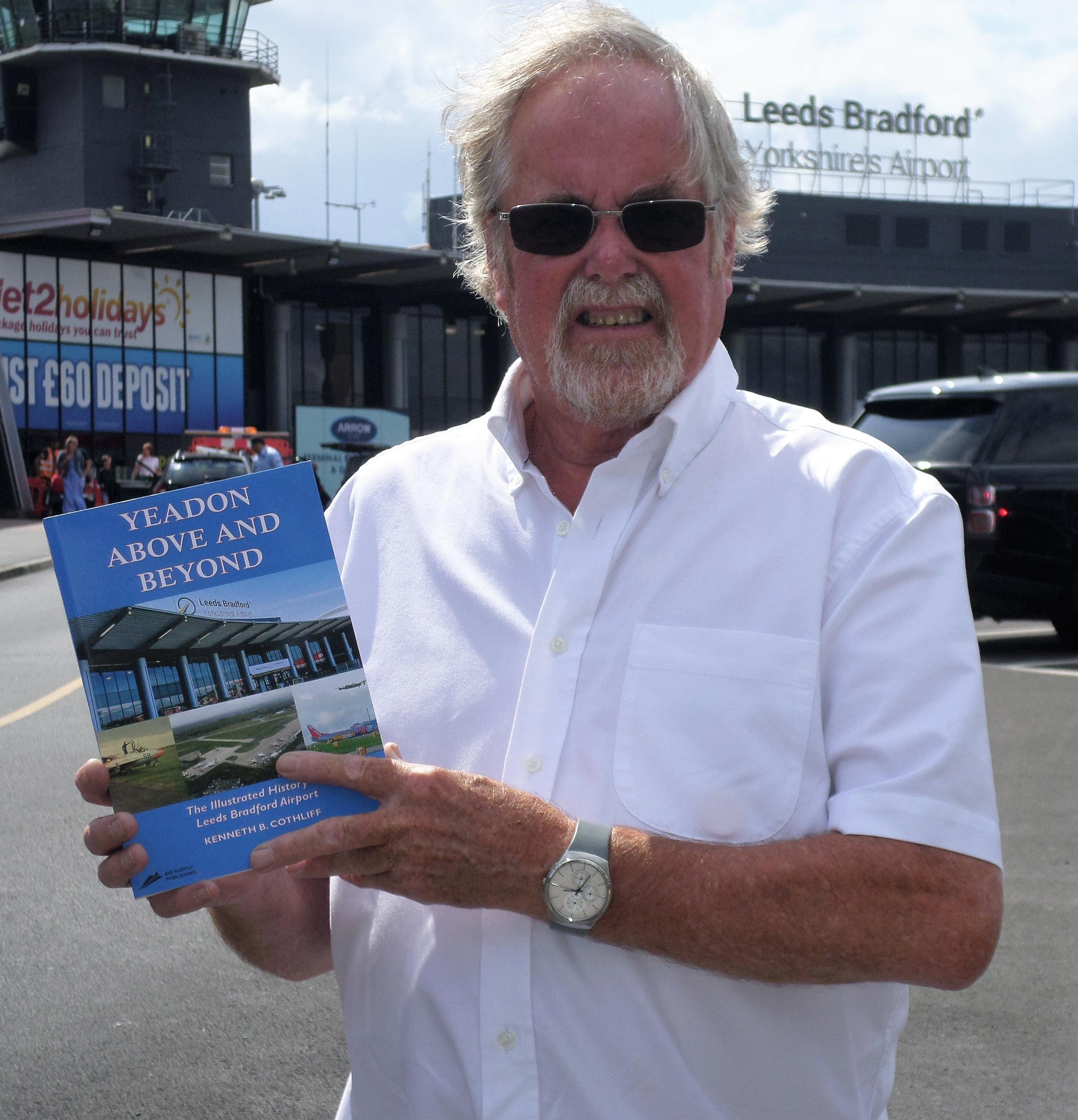 Local enthusiast charts the history of Leeds Bradford Airport in new book