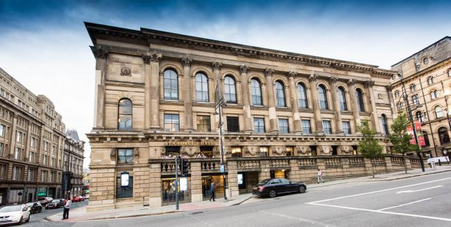 St George's Hall, Bradford - which would host events as part of the 2025 City of Culture