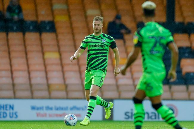 Player/coach Matt Mills says Forest Green must start with more belief