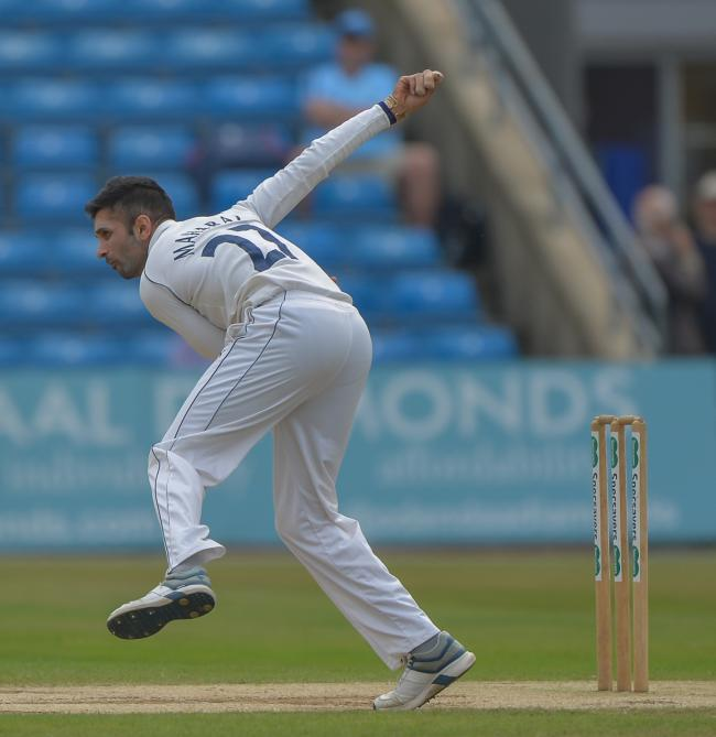 Yorkshire are keen to get Keshav Maharaj back next season  Pic: RAY SPENCER
