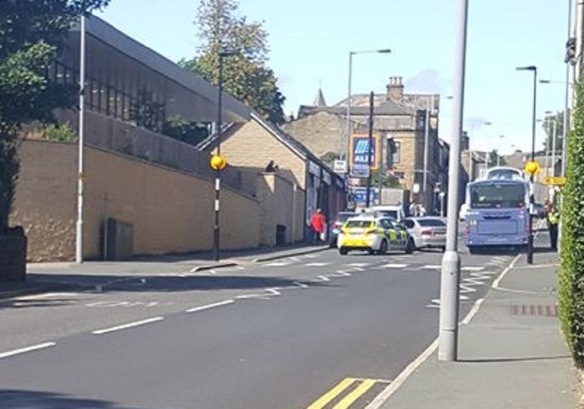 BMW crashes on Allerton Road, Bradford