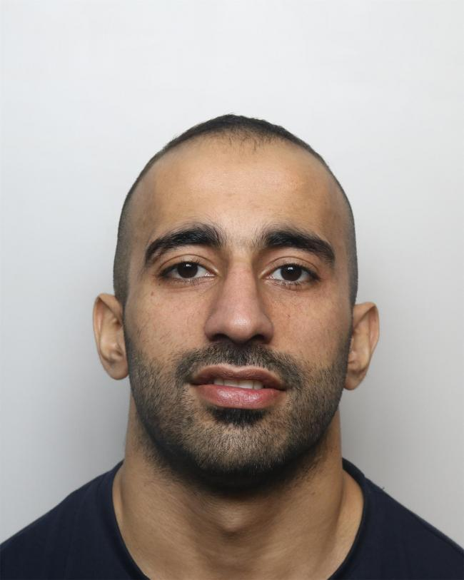Akeel (pictured) wounded his ex-partner with a knife