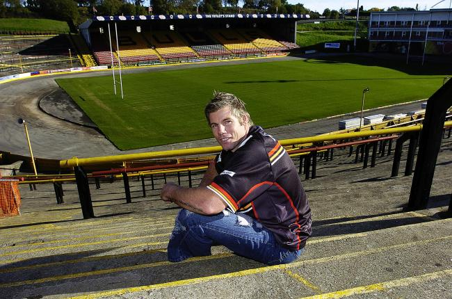 Flashback: Glenn Morrison at Odsal when he signed for Bulls in 2007