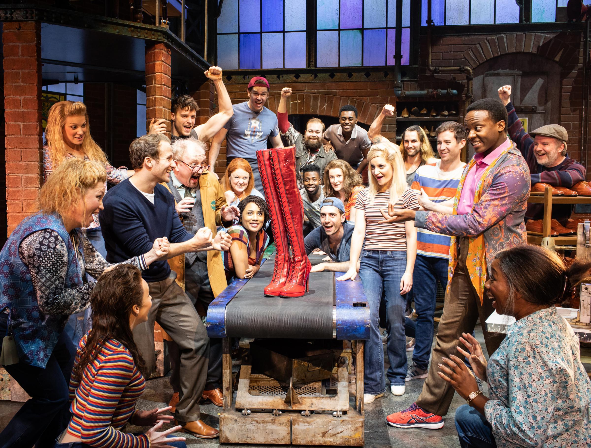 Kinky Boots is well-heeled success