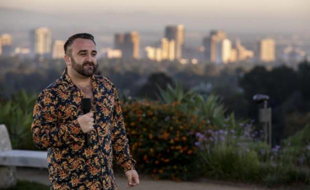 Bradford Telegraph and Argus: Danny Tetley performs during X Factor's judges' houses stage in 2018