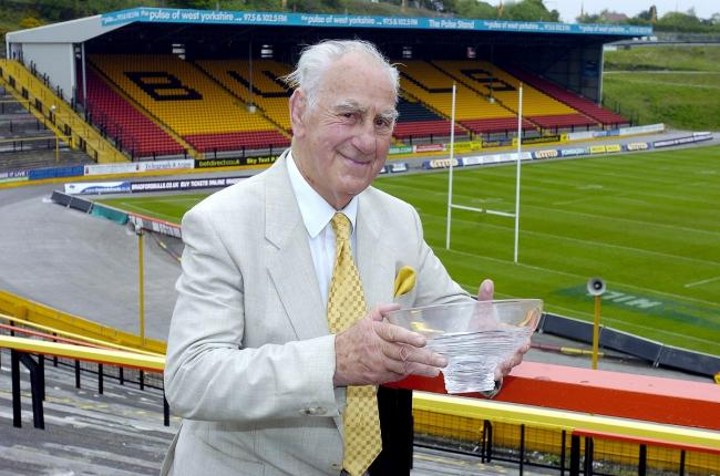 Bradford Northern legend Trevor Foster is a huge part of rugby league's history Picture: Andy Garbutt