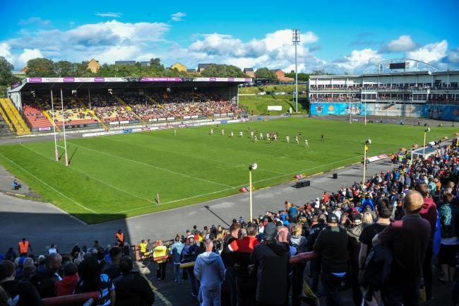 Bradford Bulls have a huge fanbase and the club want to take their views on board Picture: Tom Pearson