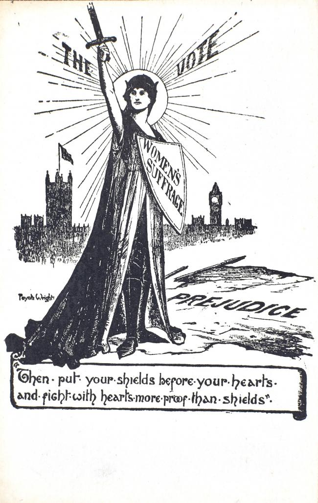A poster promoting the Suffragette movement in Bradford. Picture: Bradford Theatres