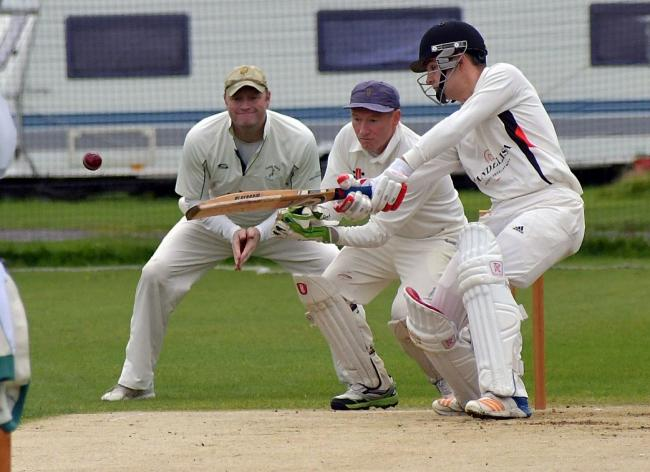 Will Atkins hit 71 for Addingham as they went third in Division One of the Aire-Wharfe League by beating Rawdon Picture: Richard Leach