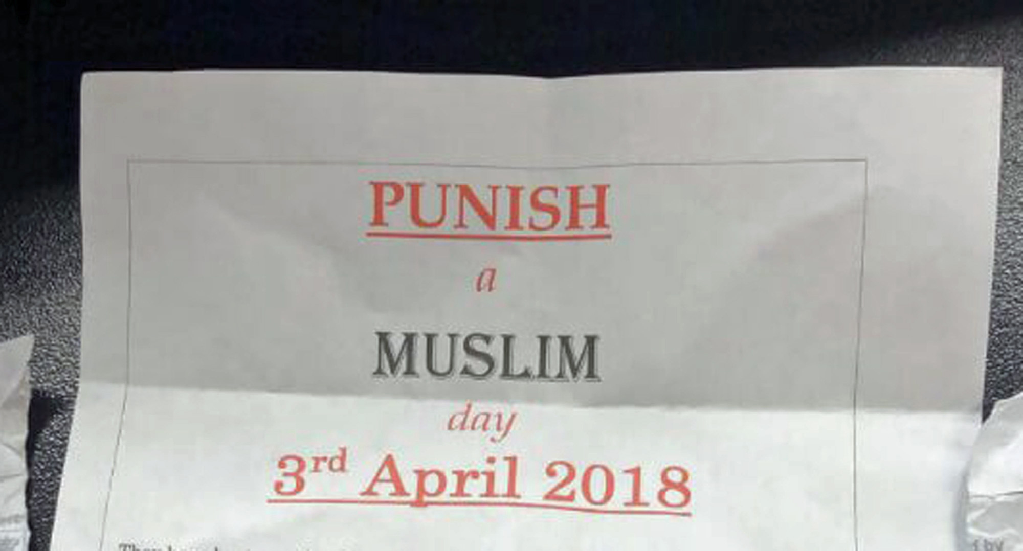 Man who sent 'Punish a Muslim Day' letters to Bradford houses is back in court