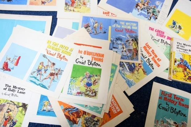 Enid Blyton's books have inspired generations of children. Illustrations by artist Mary Gernat