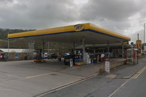 Jet filling station in South Street, Keighley