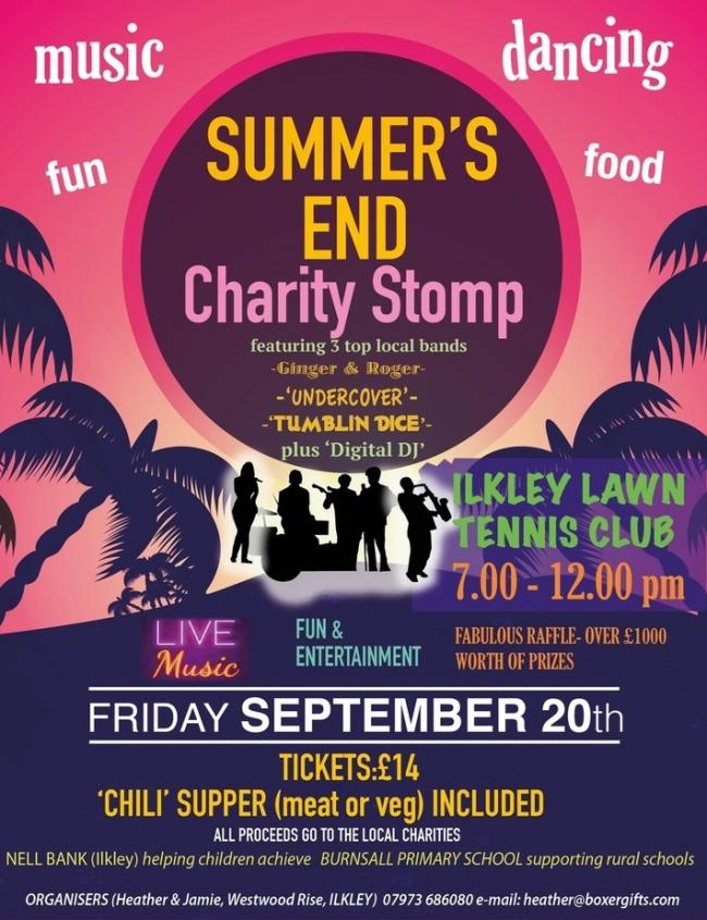 Summer's End Charity Stomp