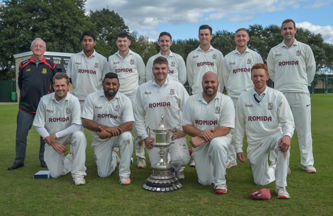Woodlands with the All Rounder Cricket Bradford Premier League Premier Division title   Picture: Ray Spencer