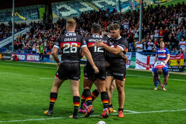 John Kear hailed his Bulls for tehir biggest win of the season at Rochdale Hornets. Picture: Tom Pearson