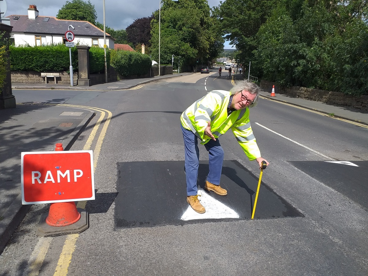 Bingley traffic calming scheme gives drivers the hump