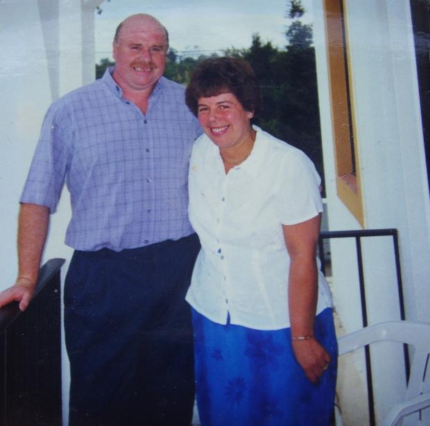 Bradford Telegraph and Argus: Ken Sugden with his wife Brenda