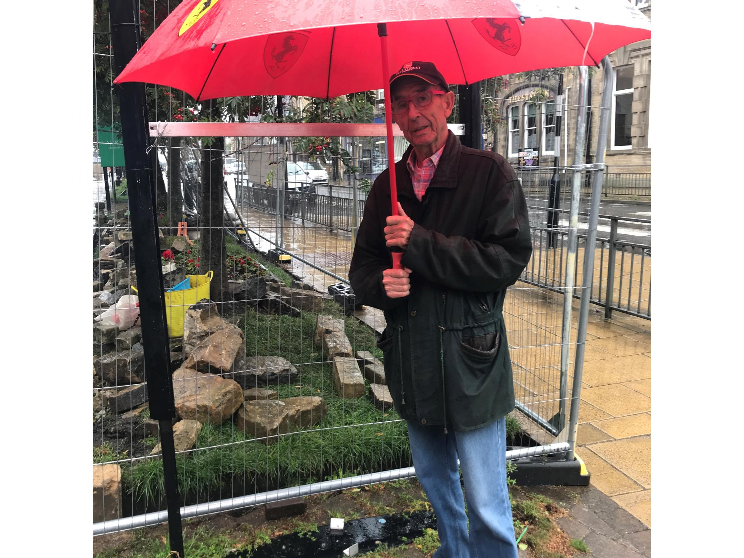 Man falls foul of planning rules in attempt to improve gateway to town