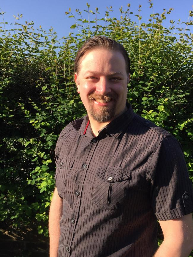Andy Stanford has been reselected to represent the Green Party in Bradford East