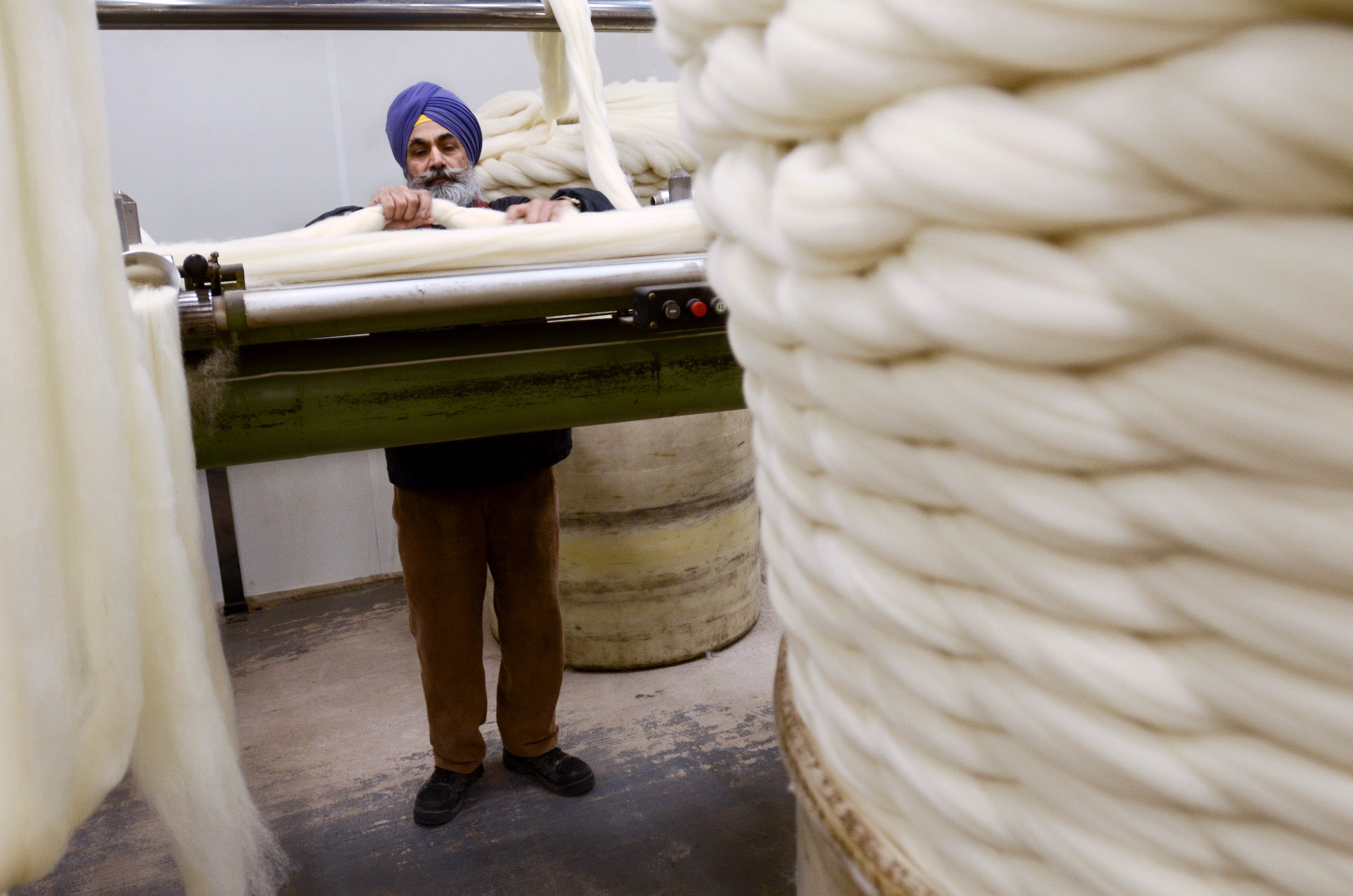 Bradford part of launch for British Wool's Traceable Wool Scheme