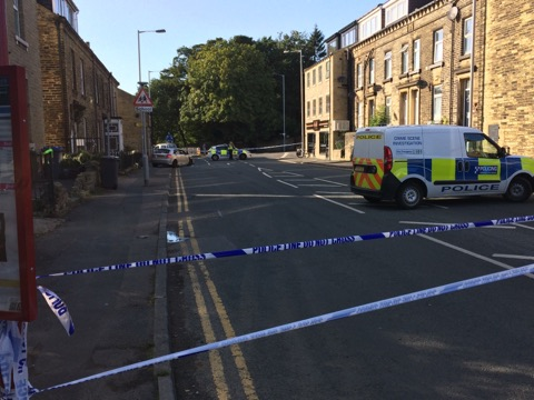 Allerton Road closed after 24-year-old is assaulted by four men