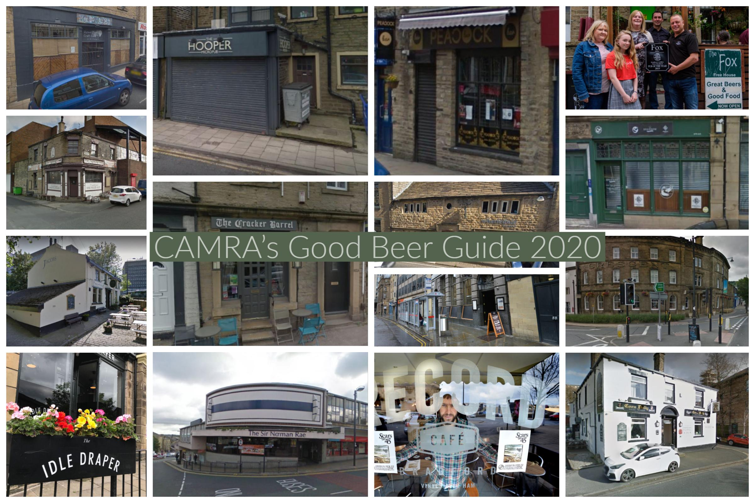 All the Bradford drinking spots in CAMRA's 2020 Good Beer Guide