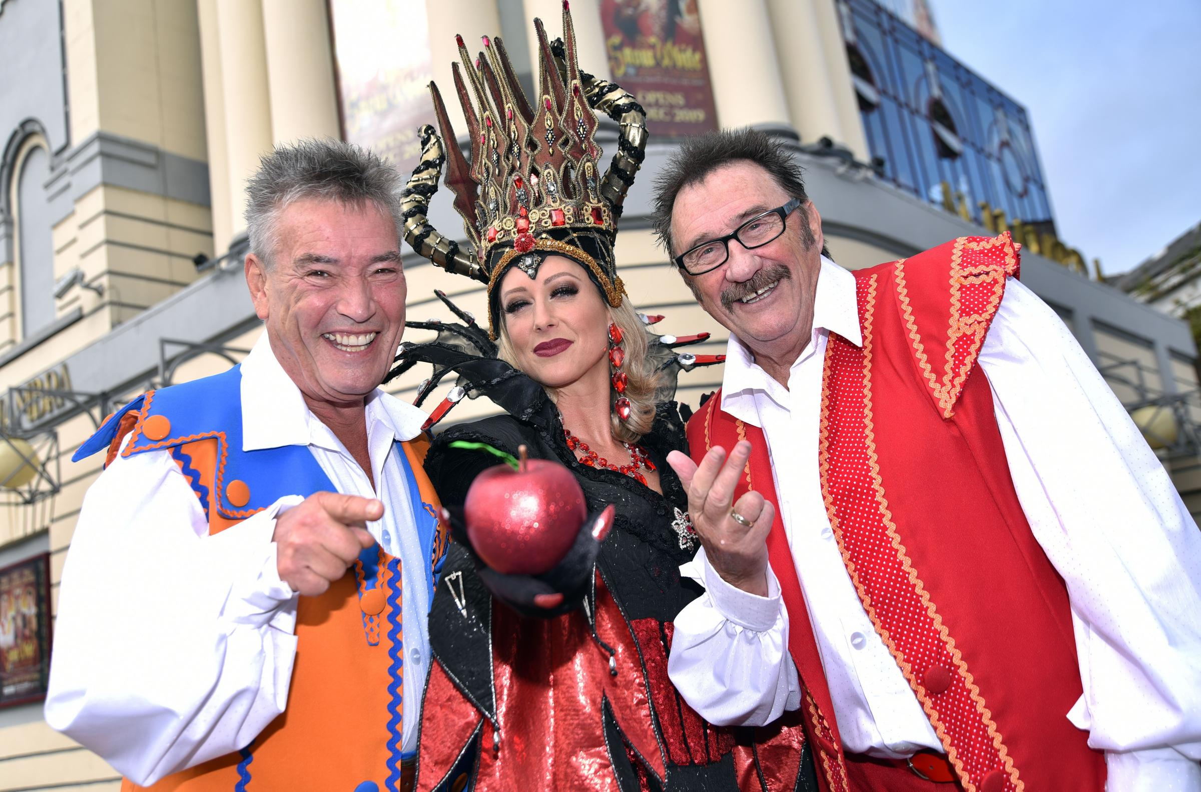 Steps star says being a baddie is more fun in Alhambra panto