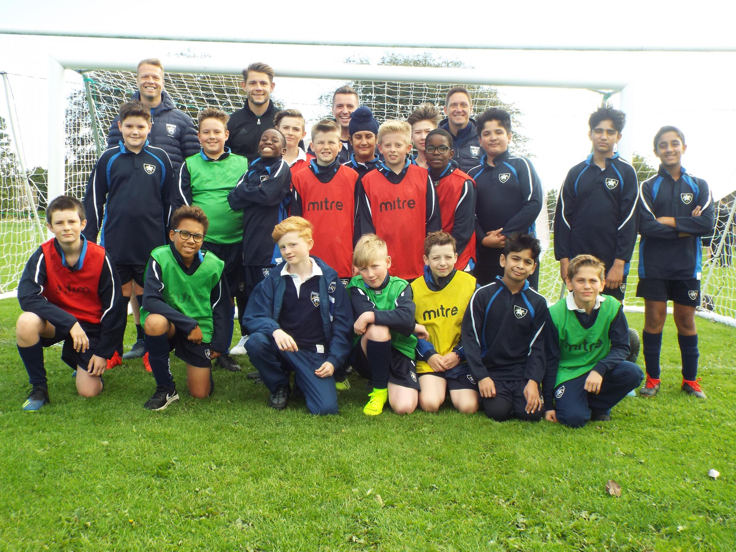 Ex-Bantam Nathan Clarke to lead football programme at Fulneck