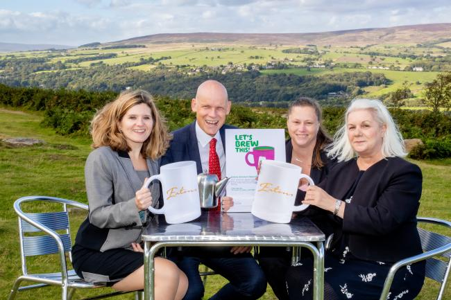 L-R: Claire Roberts solicitor, Graeme Brown managing partner, Julie MacGregor conveyancing executive and Susan Hartley head of department