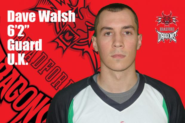Dave Walsh has signed for Bradford Dragons