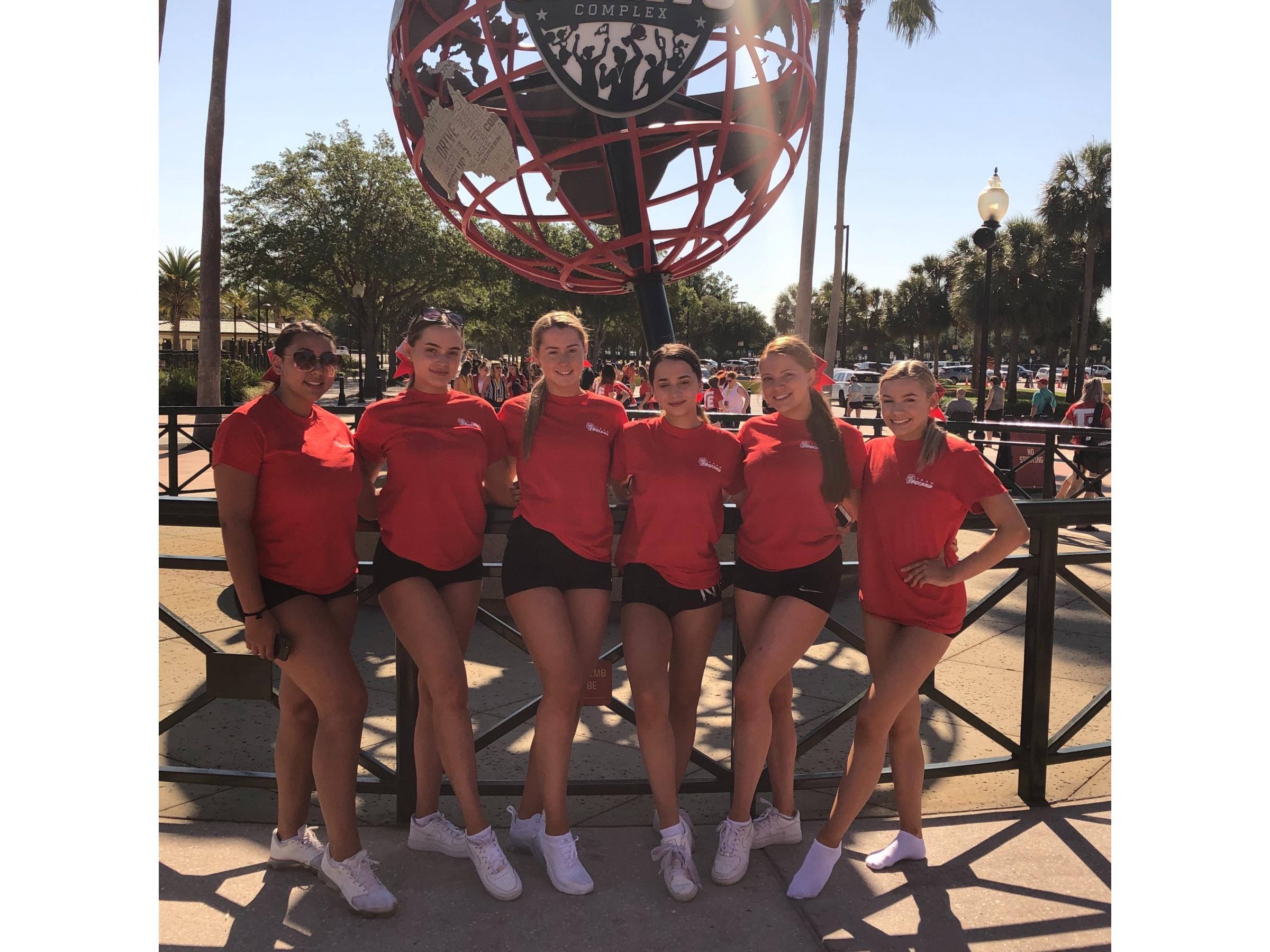 Orlando beckons Bradford cheerleaders