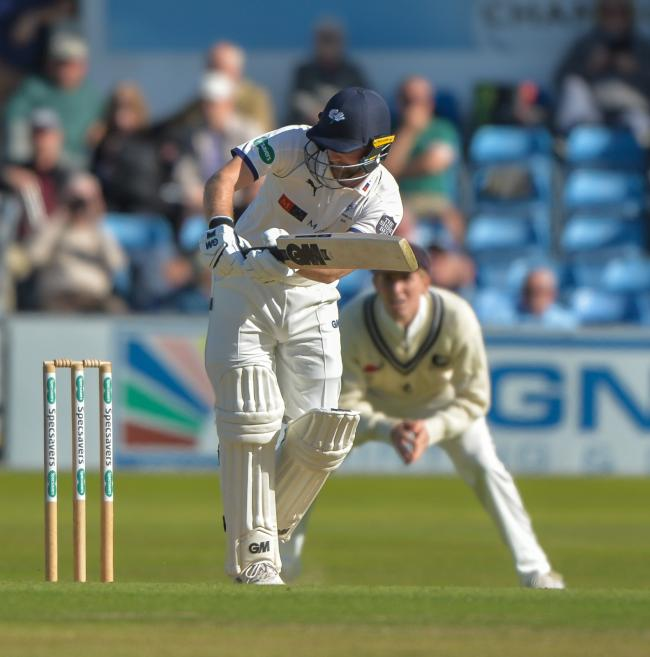 Yorkshire's Adam Lyth in action against Kent at Headingley last summer Picture: Ray Spencer