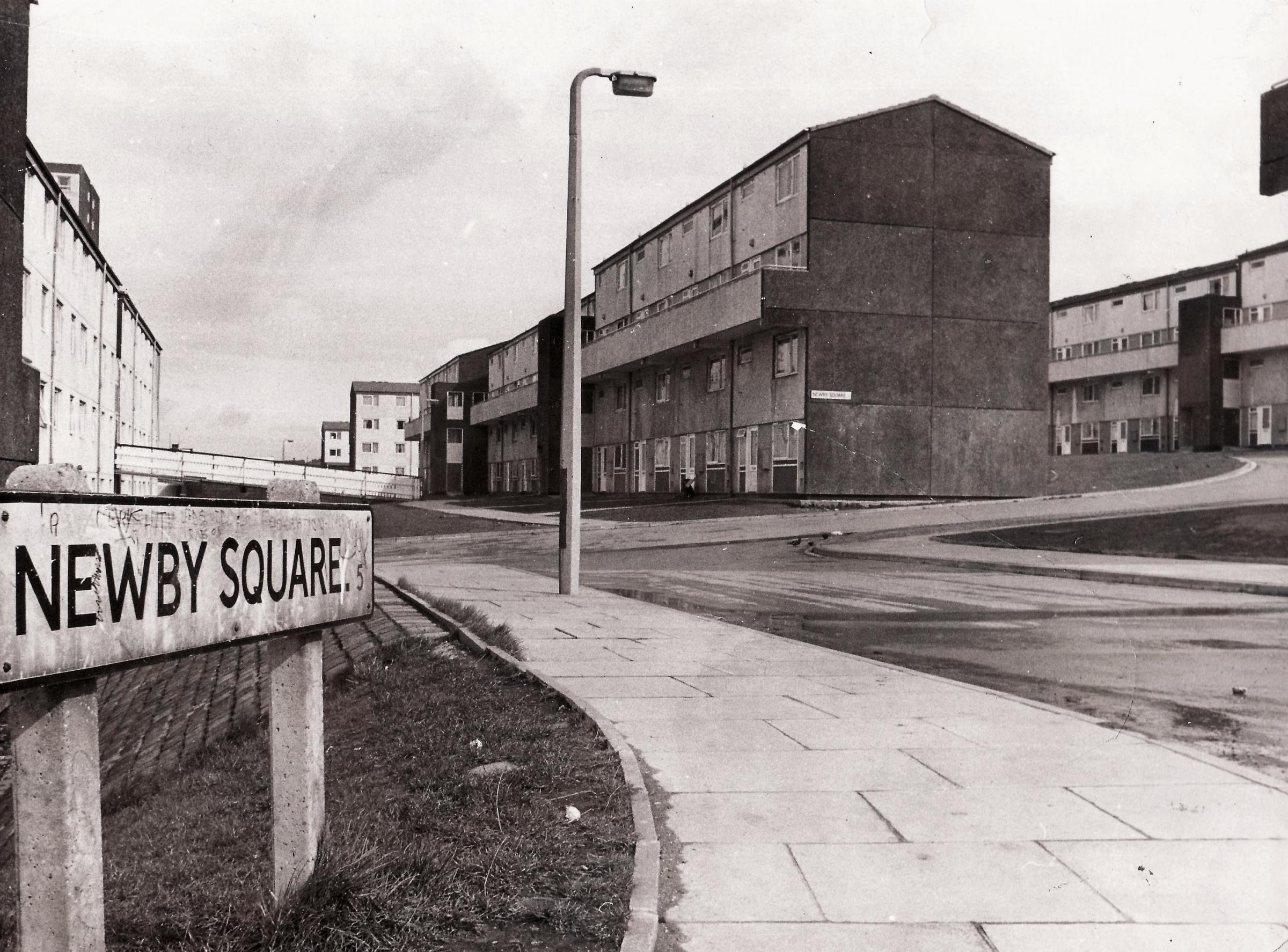 Newby Square, a Sixties housing disaster