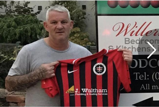 Dean Windass is unveiled as the new East Hull boss    Picture: @easthullfc