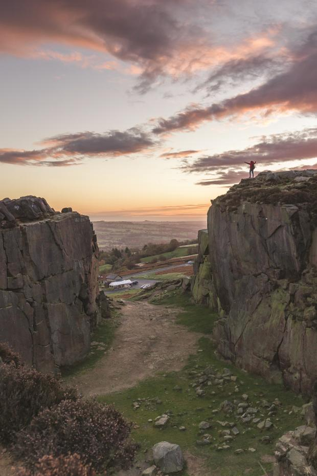 Bradford Telegraph and Argus: Ilkley Moor is one of the dramatic landscapes featured in the book