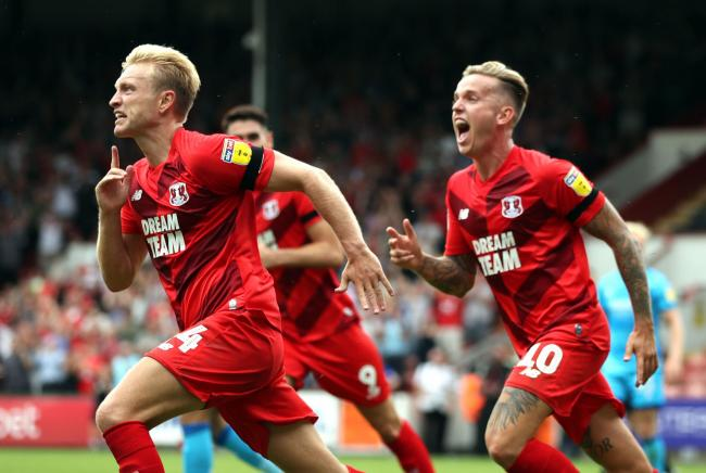 Leyton Orient's Josh Wright (left) scored twice against Port Vale   Picture: Chris Radburn/PA Wire