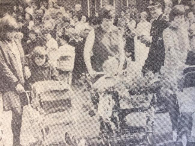 Settle Carnival in 1967. Hopes are fading for its revival in the town