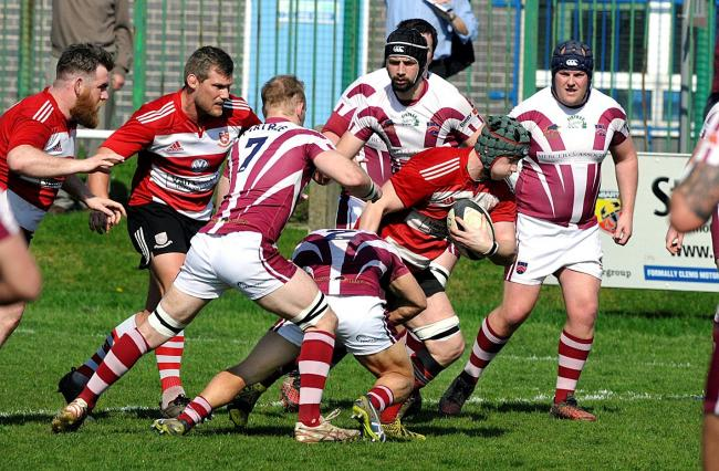 Tom Austin scored a try in Cleakheaton's 22-22 draw at Moortown in North One East