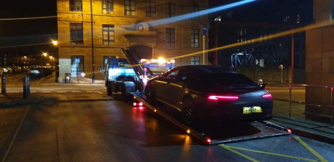 Driver gets car seized despite warning from Bradford police
