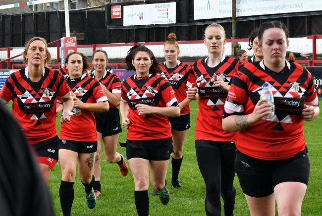 Keighley Albion Ladies rebranded in the off season to become the Keighley Cougars Picture: Richard Leach.
