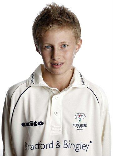 Joe Root hit a superb 63 on his first-team debut for Yorkshire today