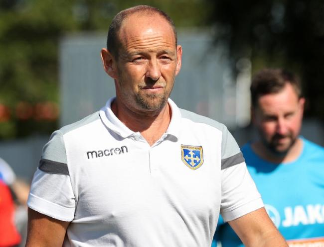 Guiseley joint-manager Russ O'Neill says his side need to recover when they host Altrincham in the Vanarama National League North. Picture: Alex Daniel Photography