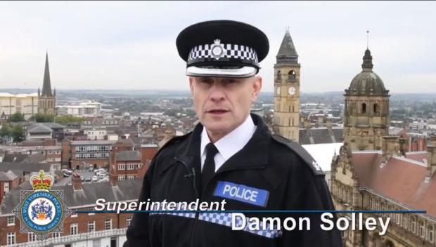 Bradford Telegraph and Argus: Superintendent Damon Solley gives an update on Operation Jemlock.