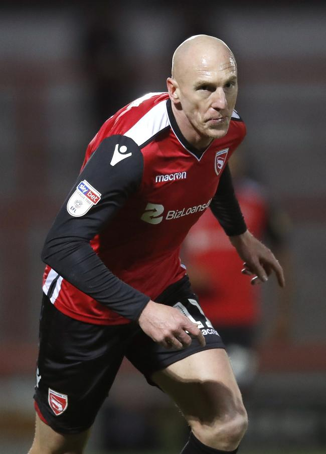 Kevin Ellison is still going strong for Morecambe at nearly 41