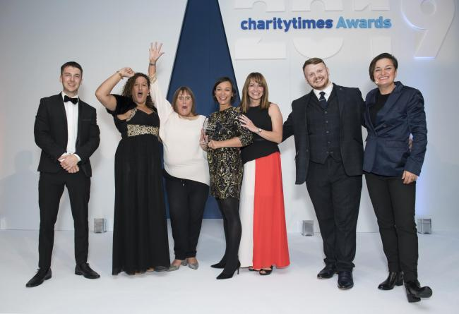 The Cellar Trust, a mental health charity based in Shipley, took home gold in the Cross-sector Partnership of the Year category
